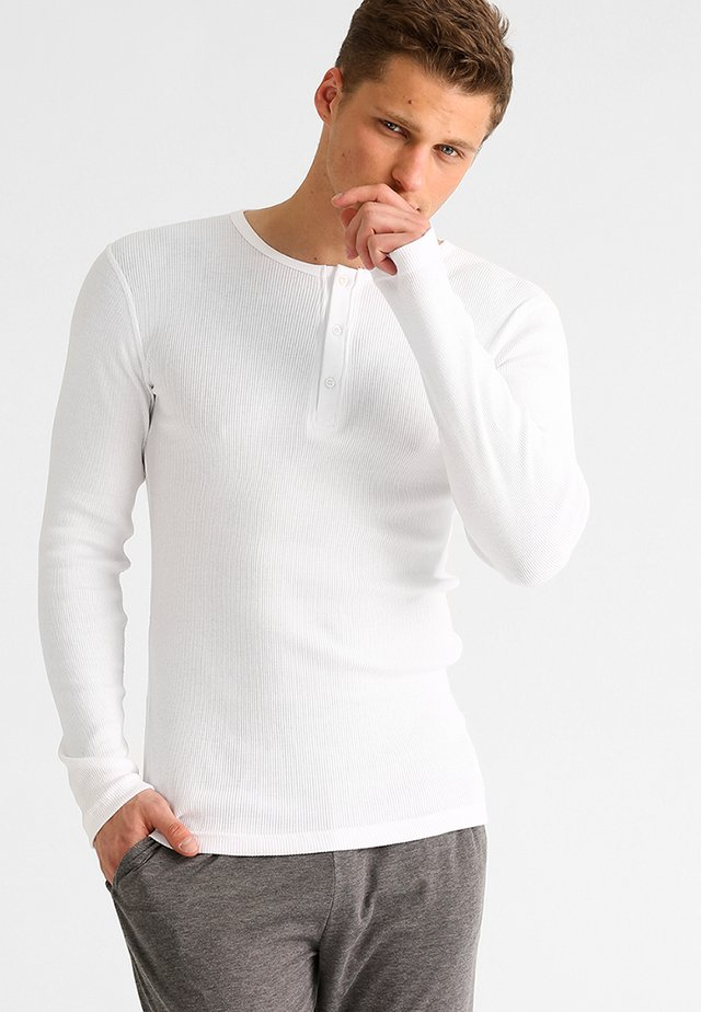 Nattøj trøjer - weiß