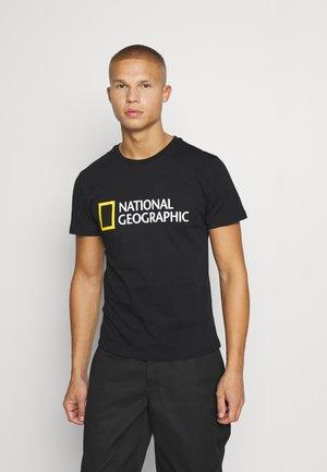 BIG LOGO - T-shirt print - black