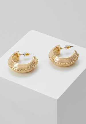FRCHUNKY EMBOSSED - Pendientes - gold-coloured