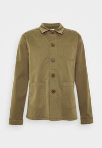 BY GARMENT MAKERS - WORKWEAR JACKET - Tunn jacka - oil green - 3