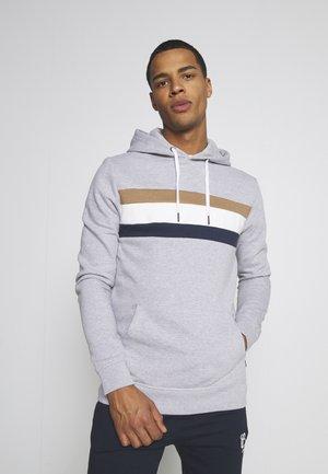 CHEST PANEL OVERHEAD HOOD - Sweater - grey