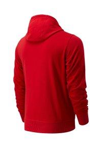 New Balance - Zip-up hoodie - rot - 1