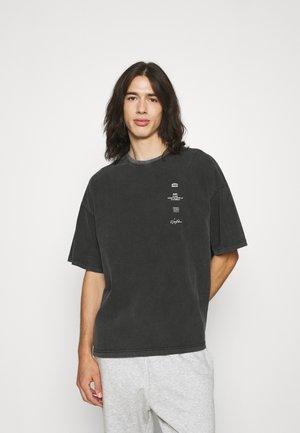 CUT VINTAGE UNISEX - Print T-shirt - vintage black