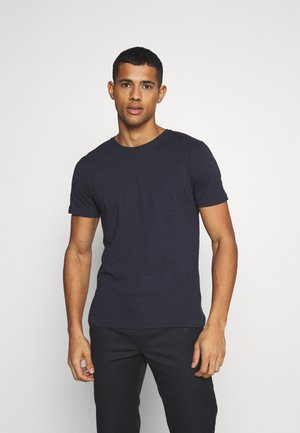 ALDER BASIC TEE - T-paita - dark blue