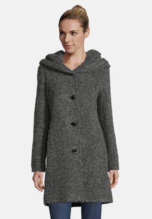 MIT KAPUZE - Classic coat - middle grey melange
