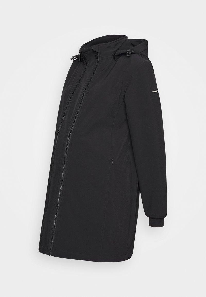 Esprit Maternity - JACKET THREE WAY USE - Short coat - gunmetal
