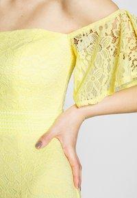 Little Mistress Tall - Společenské šaty - lemon zest - 5