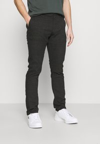 Cotton On - Chinos - charcoal prince of wales - 0