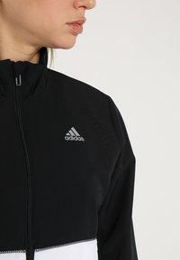 adidas Performance - CLUB - Treningsdress - black/white - 5