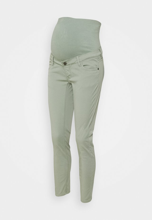 Jeans slim fit - grey moss