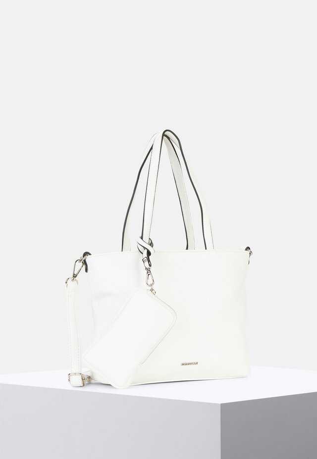SURPRISE - Shopper - white