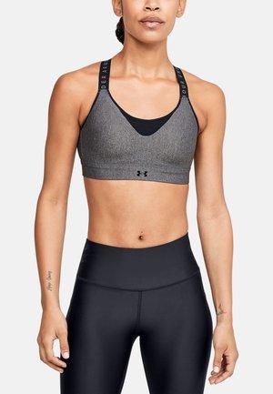Sports bra - charcoal light heather