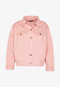 Missguided Petite - OVERSIZED JACKET - Denim jacket - blush - 4