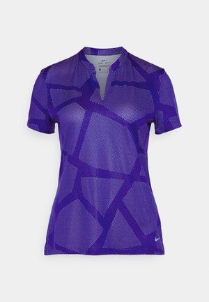 Print T-shirt - concord/light thistle