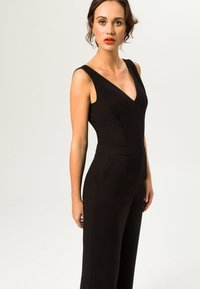 IVY & OAK - V NECK - Tuta jumpsuit - black - 2