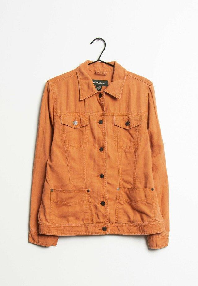 Spijkerjas - orange