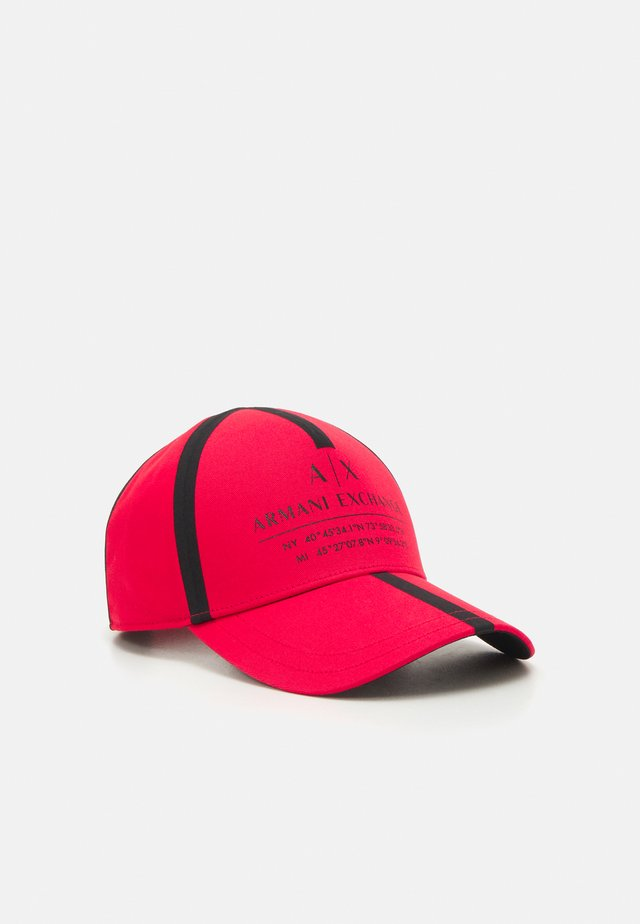 MICRO TAPE LOGO BASEBALL UNISEX - Cap - red