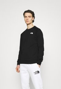 The North Face - RAGLAN REDBOX CREW NEW  - Sweatshirt - black/white - 2