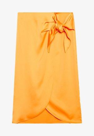 YASCADMI MIDI SKIRT - A-line skirt - cadmium yellow