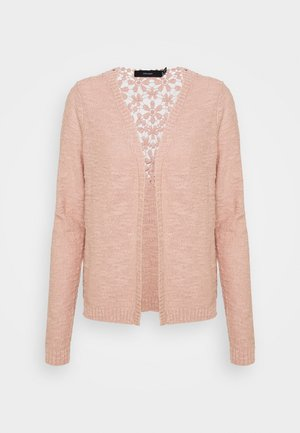 VMHANNA ANNABEL OPEN CARDIGAN - Cardigan - misty rose