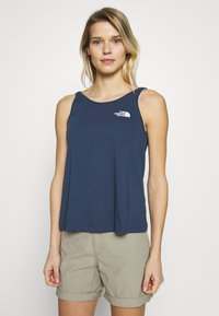 The North Face - TANK - Top - blue wing teal - 0
