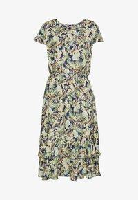 Barbara Lebek - Day dress - denim blue/ lemon/ orange - 6
