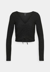 Monki - OLLE - Long sleeved top - black dark - 5