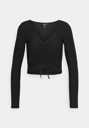 OLLE - Maglietta a manica lunga - black dark