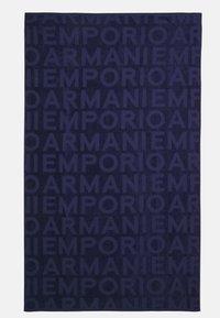 Emporio Armani - UNISEX - Beach towel - blue - 0