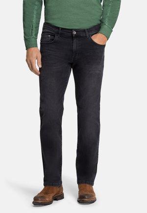 5-POCKET ERIC - Straight leg jeans - black black used