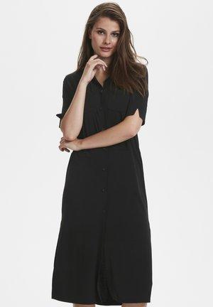 OMINA  - Shirt dress -  black