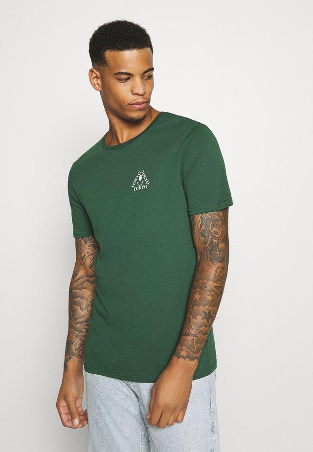 UNISEX - T-shirt med print - dark green