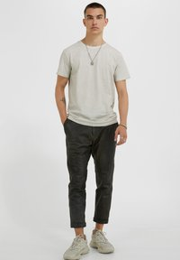 YOUNG POETS SOCIETY - Leather trousers - vintage black - 1