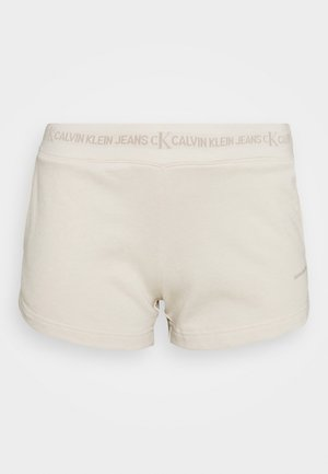 LOGO TRIM - Pantalon de survêtement - white sand