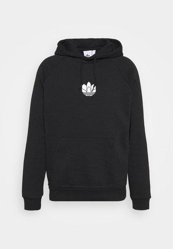 TREFOIL HOOD UNISEX - Sweatshirt - black