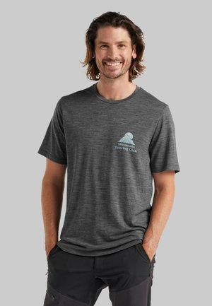 T-shirt print - gritstone hthr
