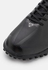 Umbro - VELOCITA VI CLUB TF - Astro turf trainers - black/white/cyan blue - 5