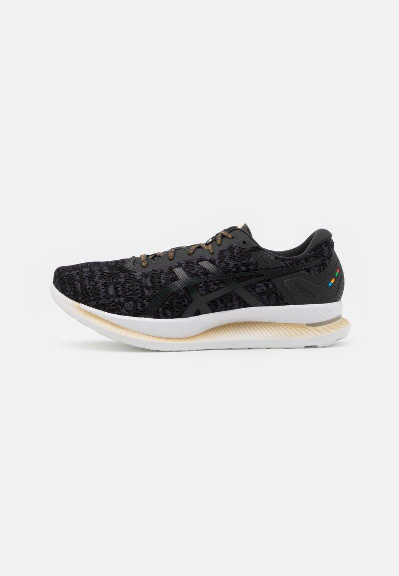 ASICS - GLIDERIDE SOUND TOKYO - Neutral running shoes - black/graphite grey