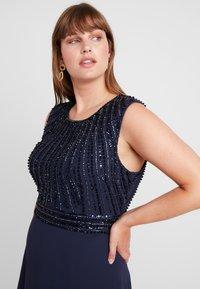 Lace & Beads Curvy - DOTTY MAJE - Vestido de fiesta - navy - 3