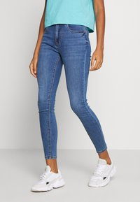 New Look - SUPERSOFT - Jeansy Skinny Fit - mid blue - 0