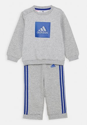 FAVOURITES SET UNISEX - Tracksuit - medium grey heather/royal blue