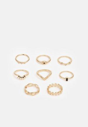 GOOD EYE 8 PACK - Ringar - gold-coloured