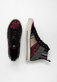Desigual - BETA JOYA - High-top trainers - black - 2