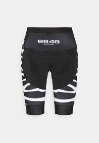 8848 Altitude - COCA BIKE  - Leggings - zebra black - 1