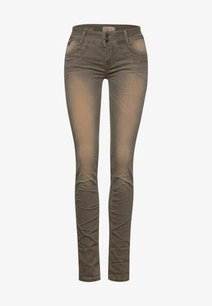 Slim fit jeans - hot sand brillant wash