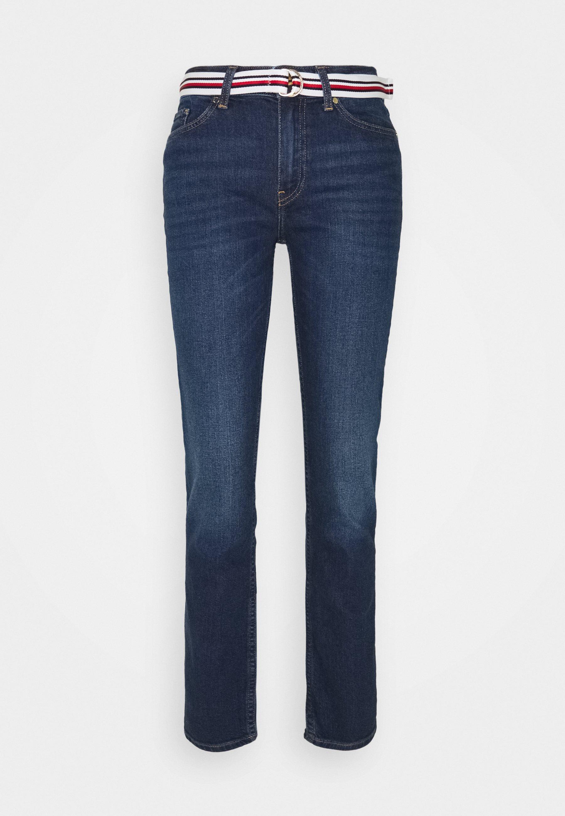Women ROME STRAIGHT BELT  - Straight leg jeans