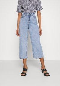 Object - OBJMARINA - Relaxed fit jeans - light blue denim - 0