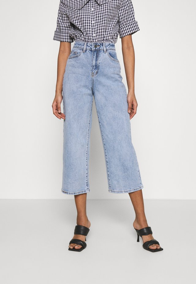 OBJMARINA - Jeans baggy - light blue denim