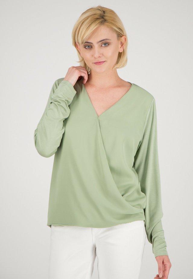 Blouse - mintgrün