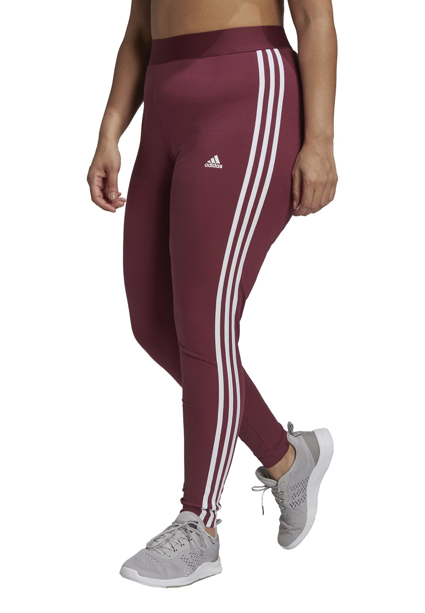 Donna 3-STRIPES SPORTS ESSENTIALS LEGGINGS FITTED PLUS SIZE - Collant